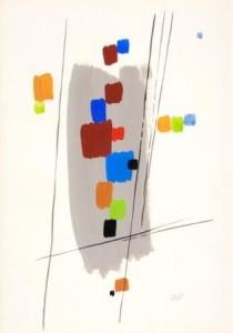 A.-van-der-Vossen-1893-1963-Compositie-gouache-49-x-34-cm-ges.