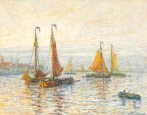 C.N.-Storm-van-s-Gravesande-1841-1924-Ochtendstemming-51-x-65-cm-pastel-ges.