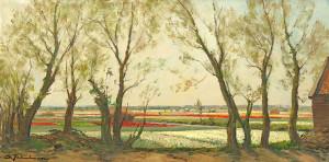D.Schulman-1881-1966-Bloembollenvelden-olieverf-op-doek-ges.-l.o.-afm-41-x-81-cm