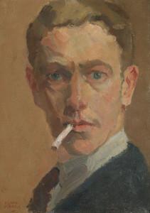 I.-Israels-1865-1934-Portret-van-Louis-Davids-olie-op-paneel-ges.-l.o.-34-x-245-cm-