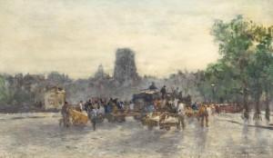 J.H.-van-Mastenbroek-1875-1945-Avondstemming-aquarel-20-x-34-cm-ges.-r.o.-en-ged.-06