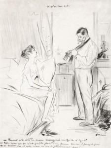 J.L.-Forain-1852-1931-Ce-quon-leur-dit-zwarte-inkt-39-x-30-cm-ges.-r.o.