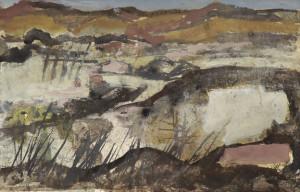 J.-van-Heel-1898-1990-Spaans-landschap-gouache-32-x-49-cm-ges.-r.o.