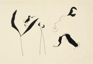 W.-Leeuwens-1923-1986-Figuren-O.-indische-inkt-31-x-44-cm-ges.