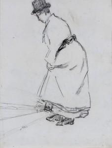 W.B.-Tholen-Staande-vrouwgood