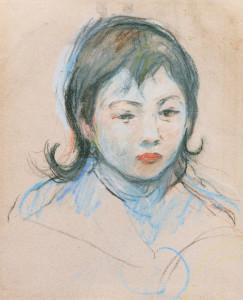 Berthe-Morisot-kinderportret