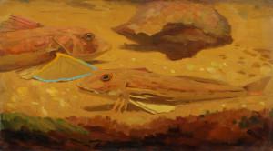 Dijsselhof-vissen-olieverf