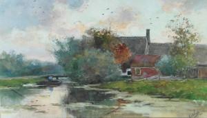 Van-der-Windt-landschap-met-varende-boer