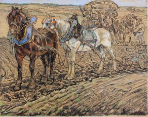 Dupont-twee-ploegende-paarden