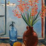 Hordijk-Stilleven-met-vaas-citroen en fles