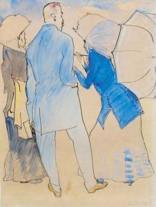 Gestel,-L.-Twee-elegante-dames-en-een-heer