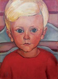 Feuerstein-kinderportret