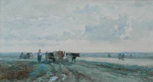 Roelofs-landschap-met-koeien-