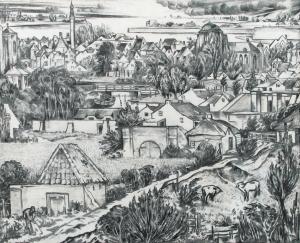 Klooster,-ten-Gezicht-op-Veere