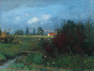 Meiners-P-Landschap-met-boerderij