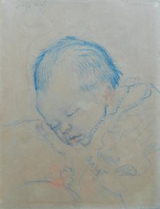 Sluijters-J-Babyportret-van-Loes-Sluijters