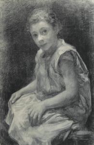 Tholen-W.B.-Portret-van-Zus-Arntzenius